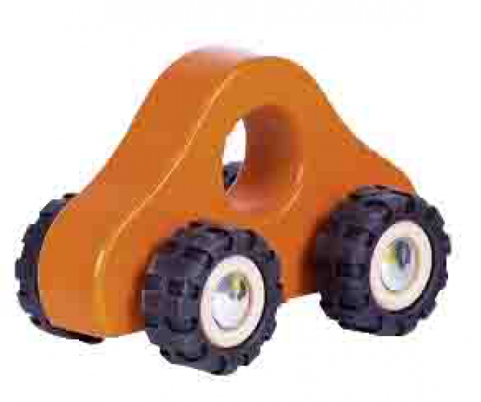 Greifling Rennauto orange