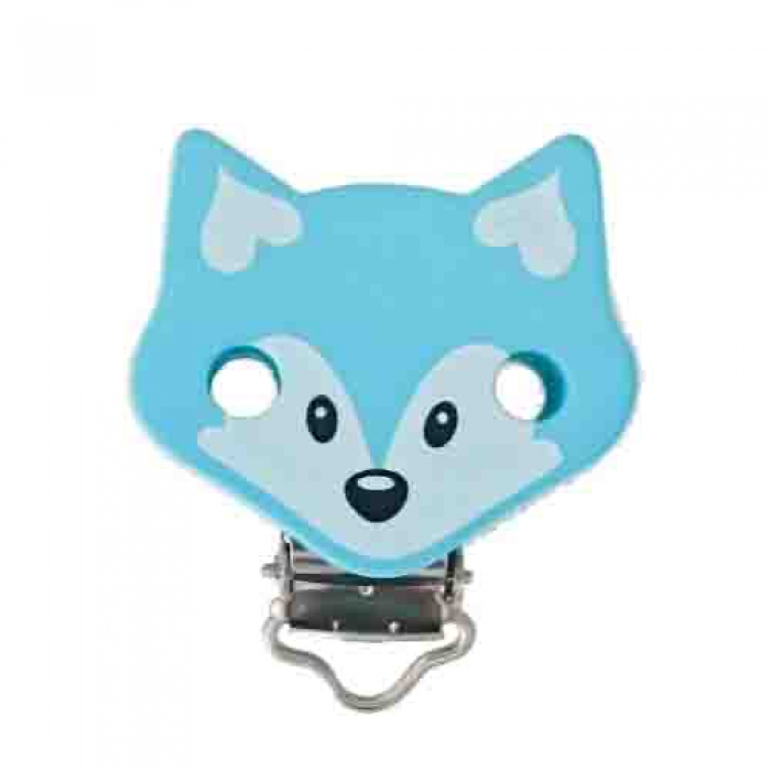 "Figurenclip ""Fuchs"" mint"