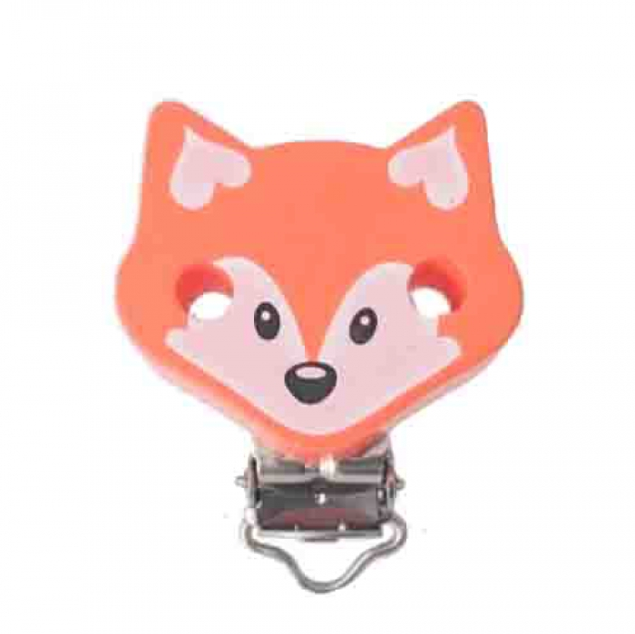 "Figurenclip ""Fuchs"" orange"