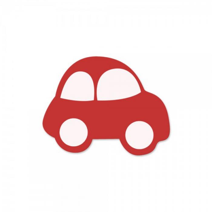 motivperle auto rot weiss deine schnullerkette deine. Black Bedroom Furniture Sets. Home Design Ideas