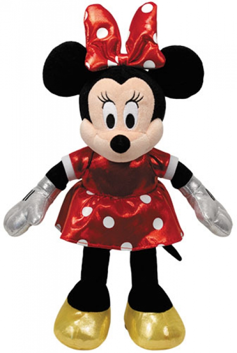 Disney Minnie Mouse Glitter rot mit Sound