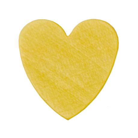 motivperle herz in gelb deine schnullerkette deine schnullerkette geschenke mit wunschnamen. Black Bedroom Furniture Sets. Home Design Ideas