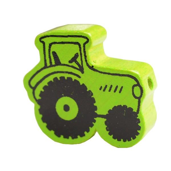 motivperle traktor apfelgr n deine schnullerkette deine schnullerkette geschenke mit. Black Bedroom Furniture Sets. Home Design Ideas