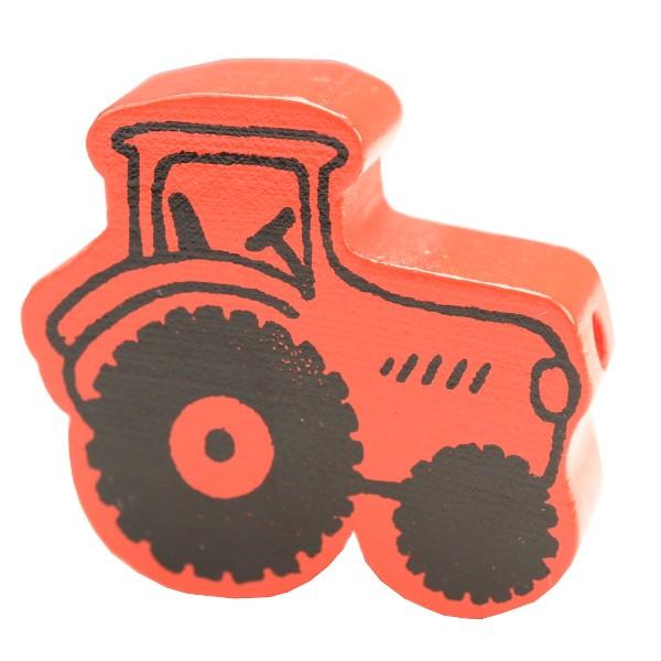 motivperle traktor rot deine schnullerkette deine. Black Bedroom Furniture Sets. Home Design Ideas