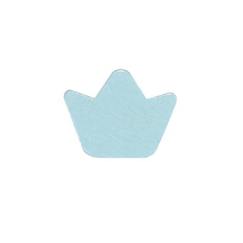 motivperle krone in babyblau deine schnullerkette deine schnullerkette geschenke mit. Black Bedroom Furniture Sets. Home Design Ideas