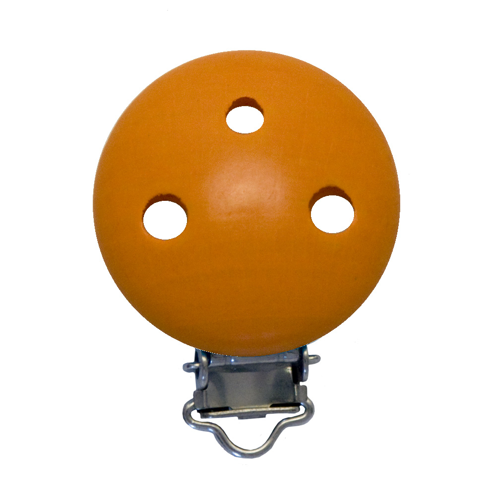 befestigungsclip bzw schnullerkettenclip orange deine. Black Bedroom Furniture Sets. Home Design Ideas